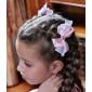 Зажим для волос двойной бантик (2шт)